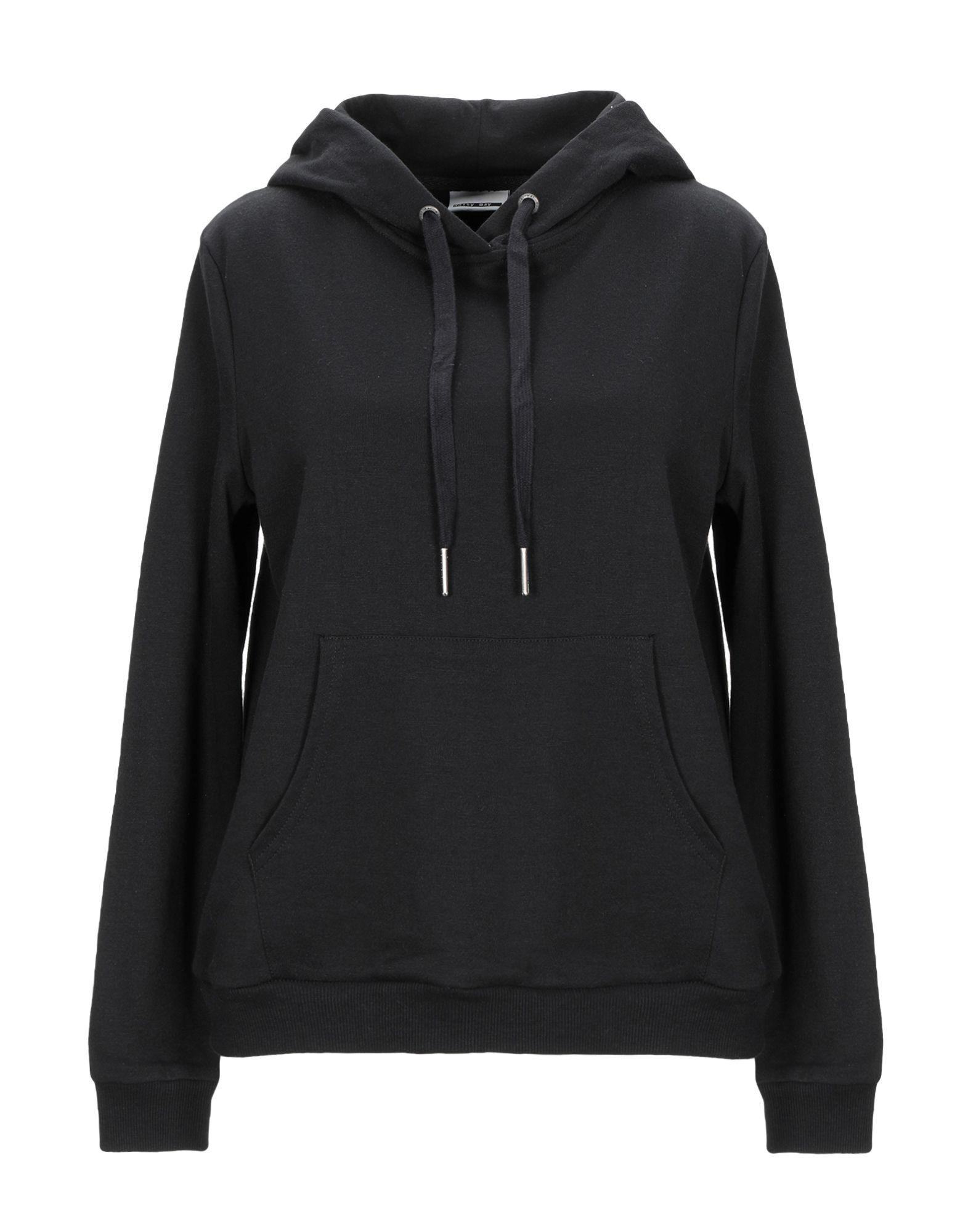 《期間限定セール中》NOISY MAY レディース スウェットシャツ ブラック XS ポリエステル 65% / コットン 35%
