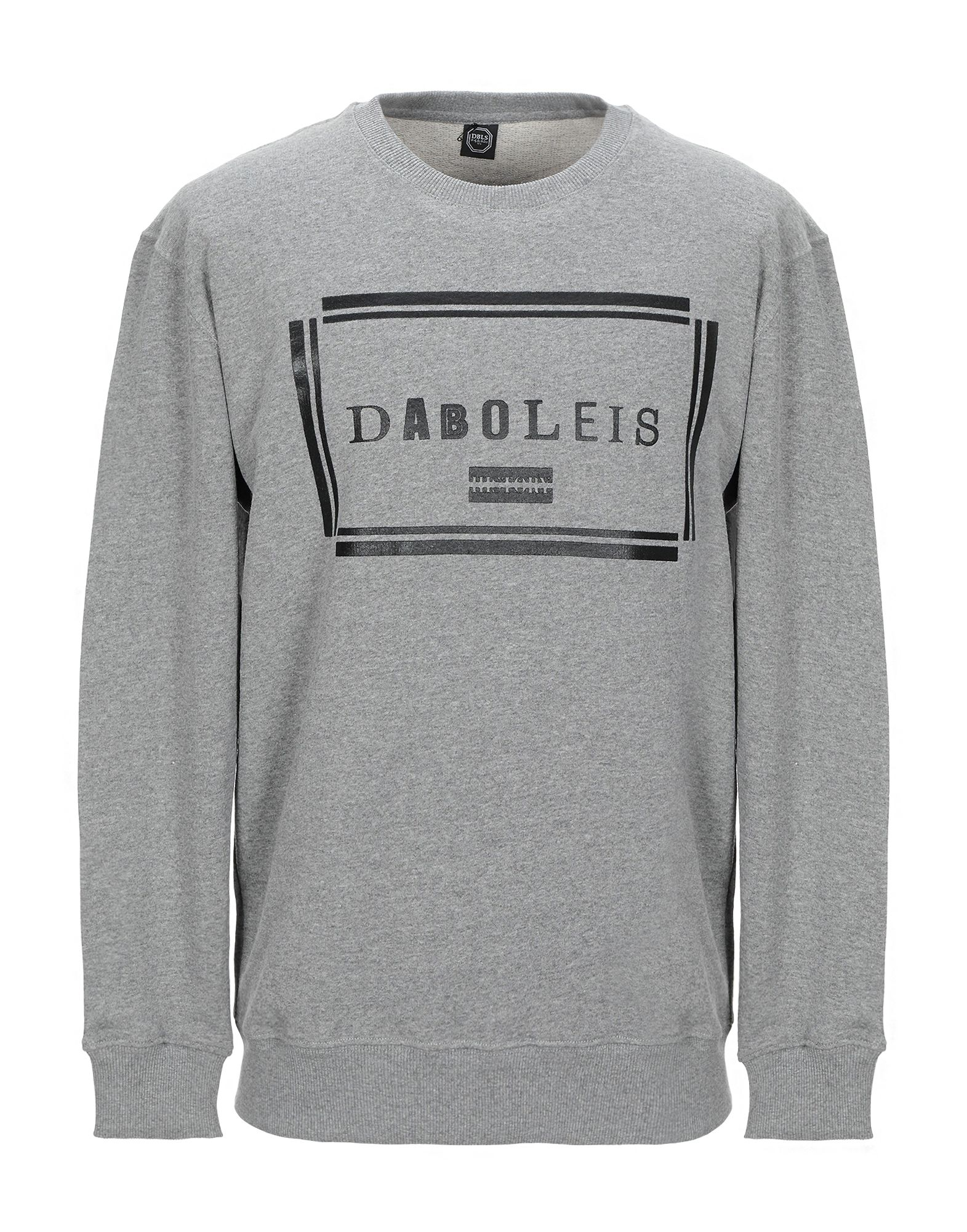 《セール開催中》DABOLEIS メンズ スウェットシャツ グレー M コットン 100%