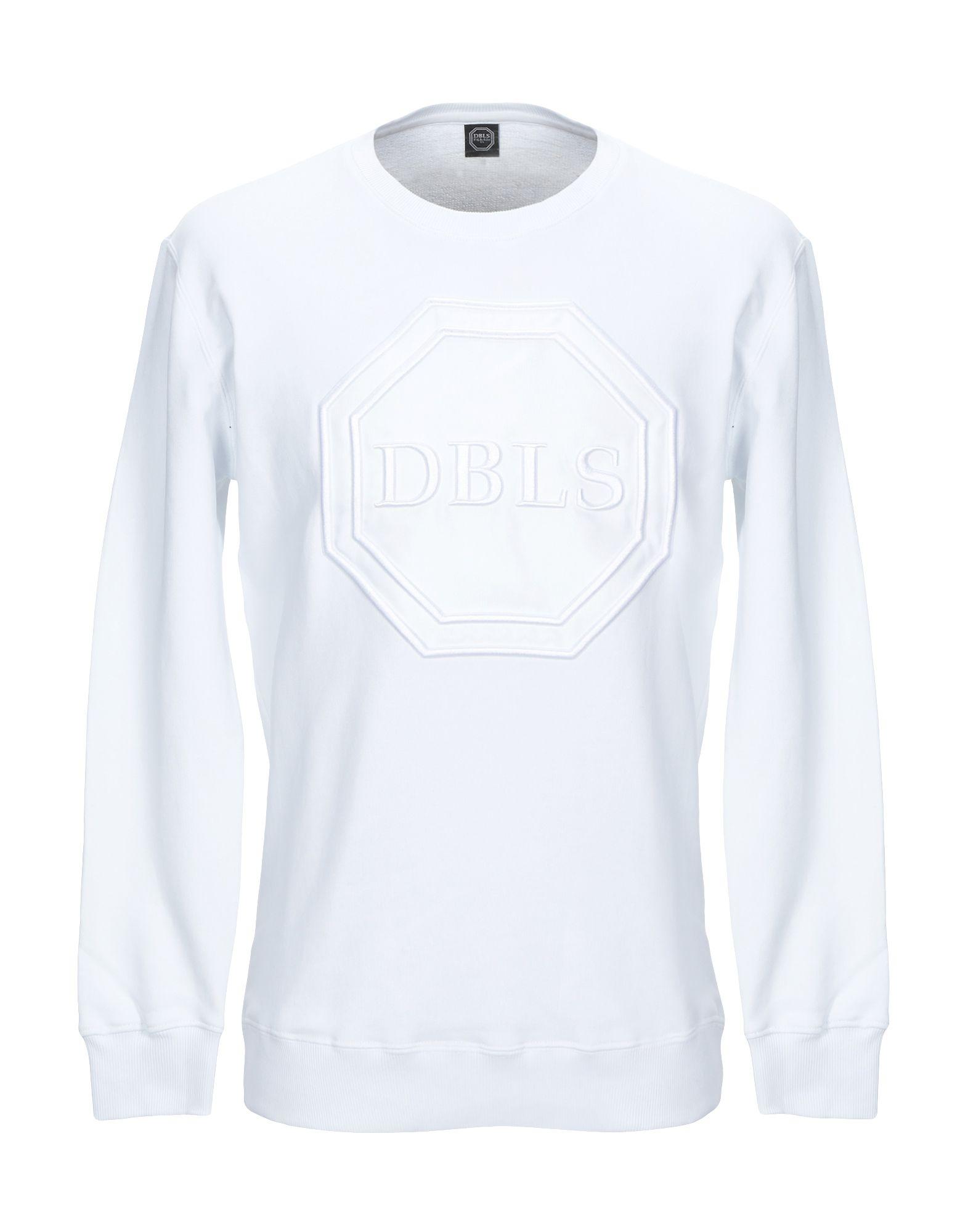 《セール開催中》DABOLEIS メンズ スウェットシャツ ホワイト S コットン 100%