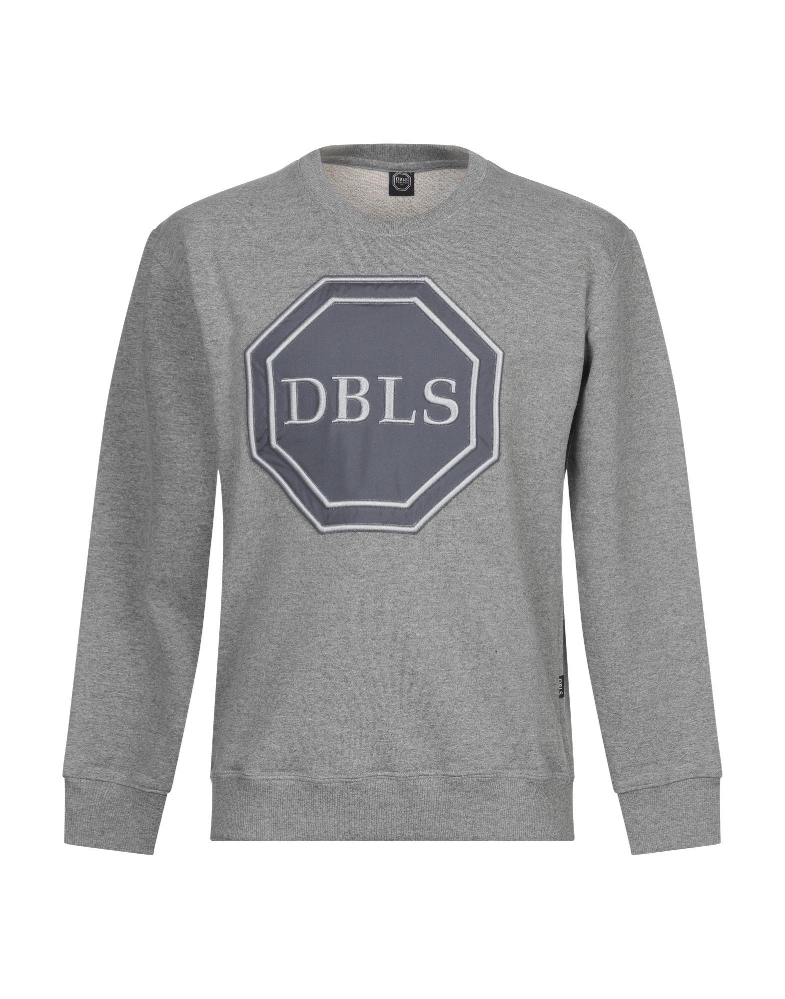 《セール開催中》DABOLEIS メンズ スウェットシャツ グレー XS コットン 100%