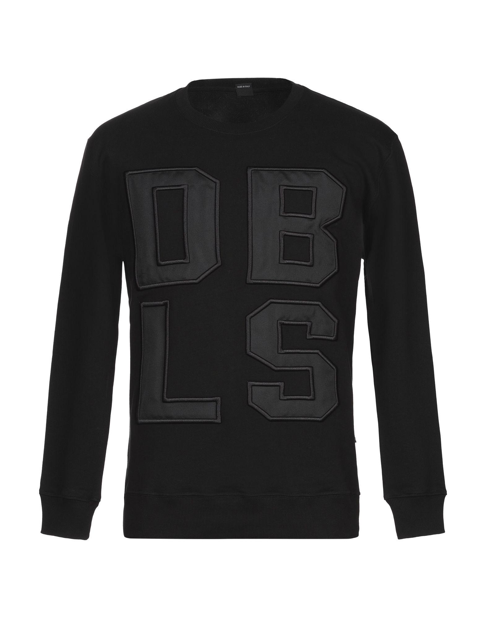 《セール開催中》DABOLEIS メンズ スウェットシャツ ブラック XS コットン 100%