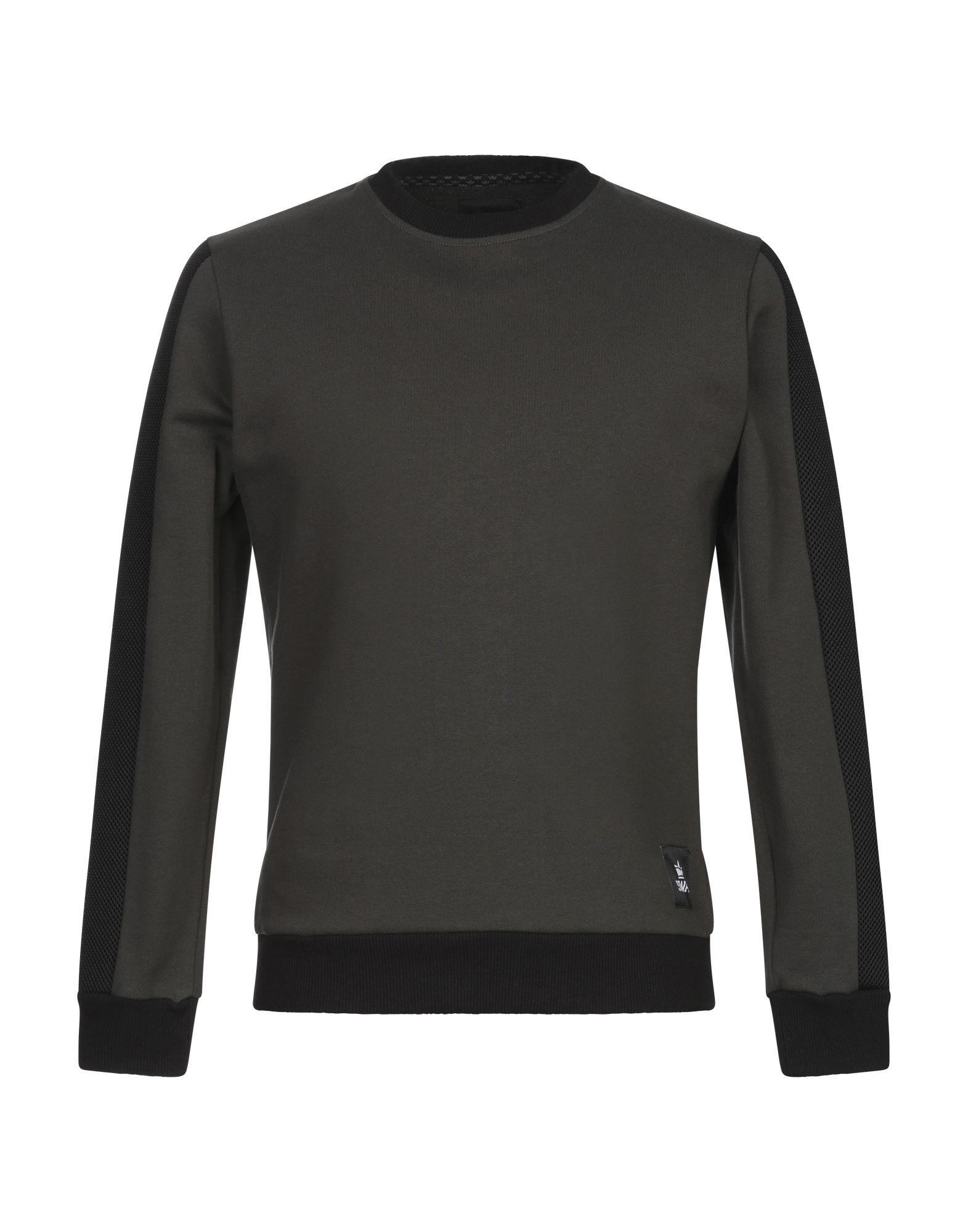 《セール開催中》SWAG メンズ スウェットシャツ ミリタリーグリーン S コットン 100% / ポリエステル