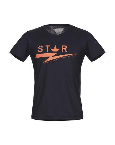 Купить Женскую футболку MACCHIA J темно-синего цвета