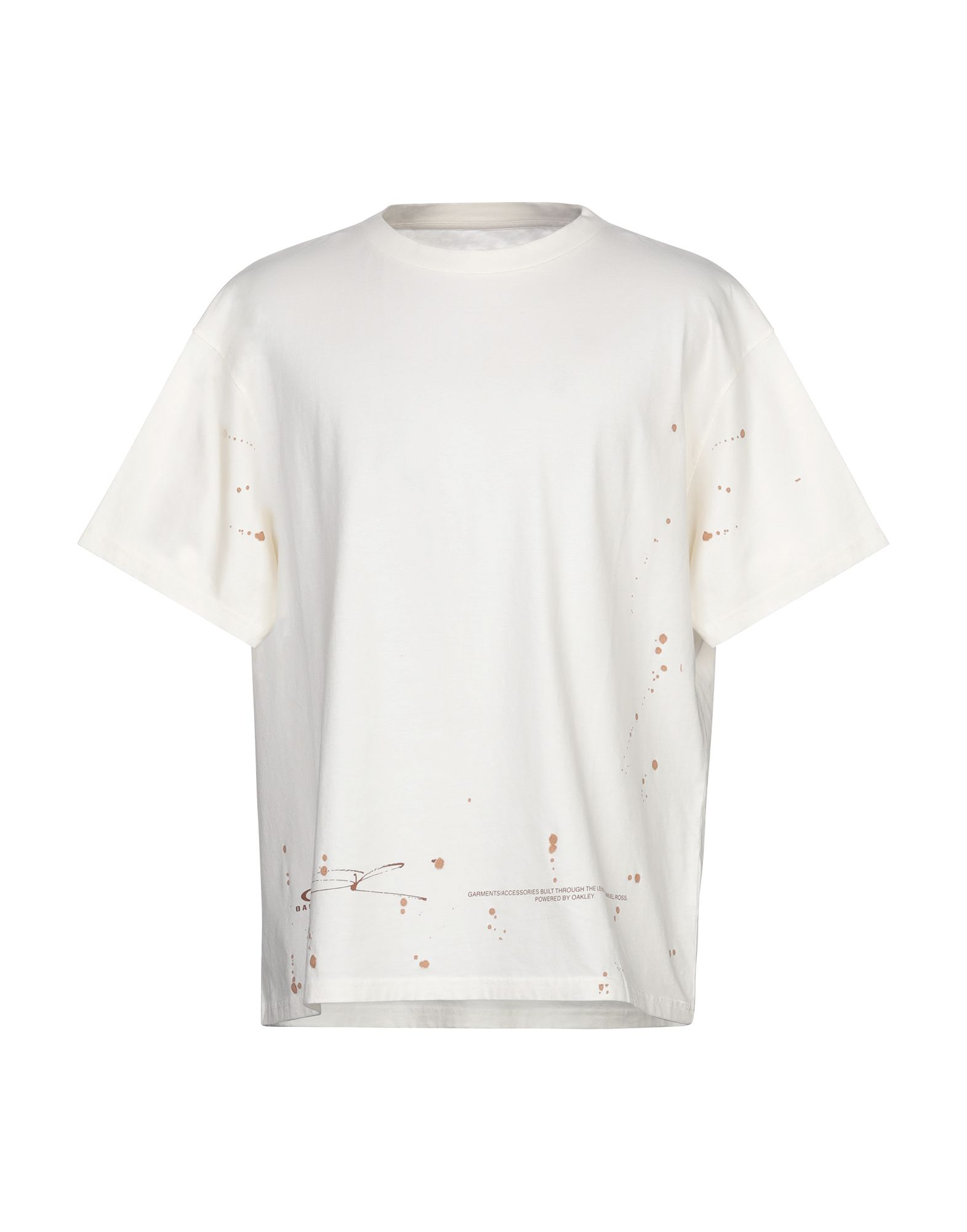 《セール開催中》OAKLEY メンズ T シャツ アイボリー XS コットン 100%