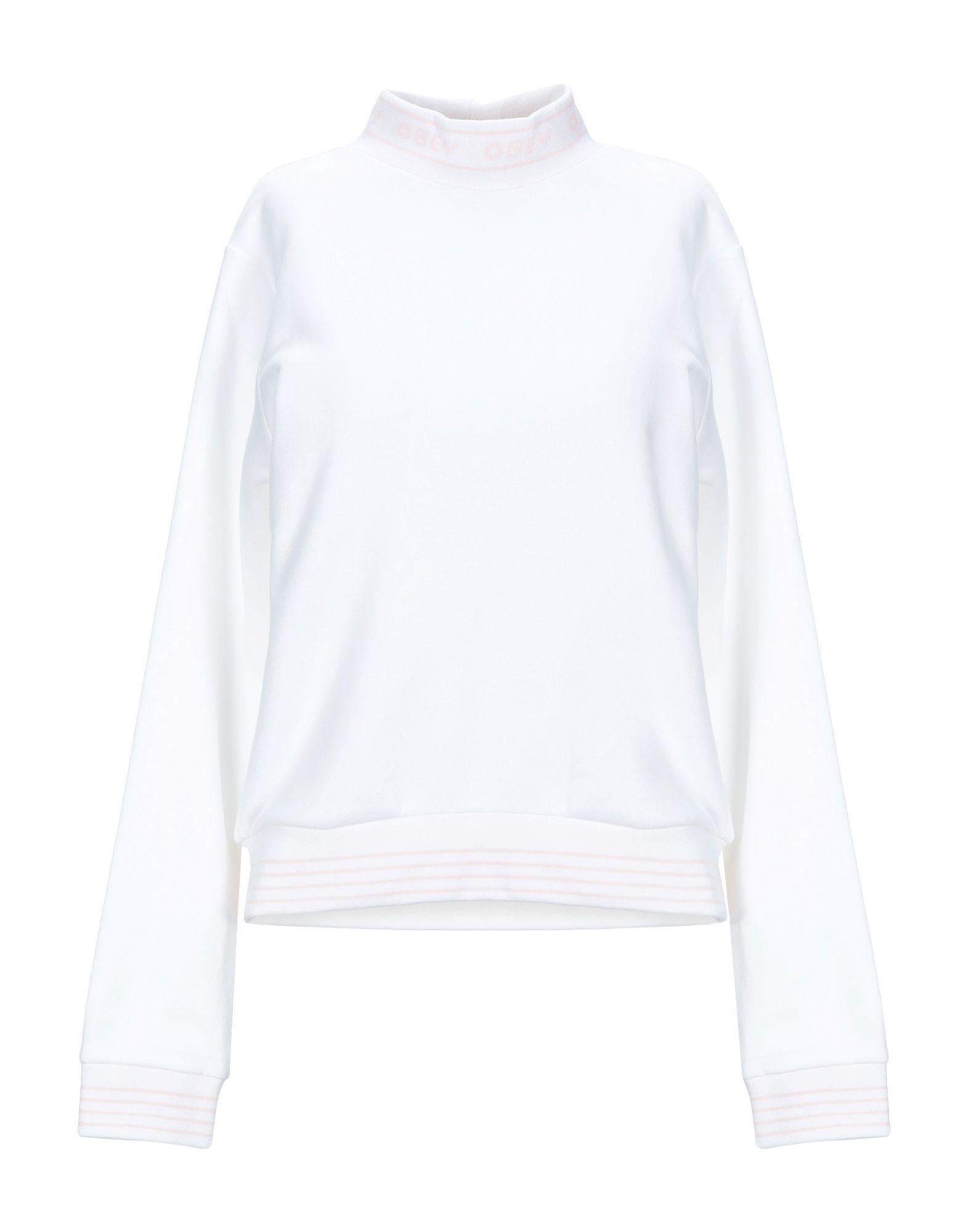 《セール開催中》OBEY レディース スウェットシャツ ホワイト M コットン 84% / ポリエステル 16%