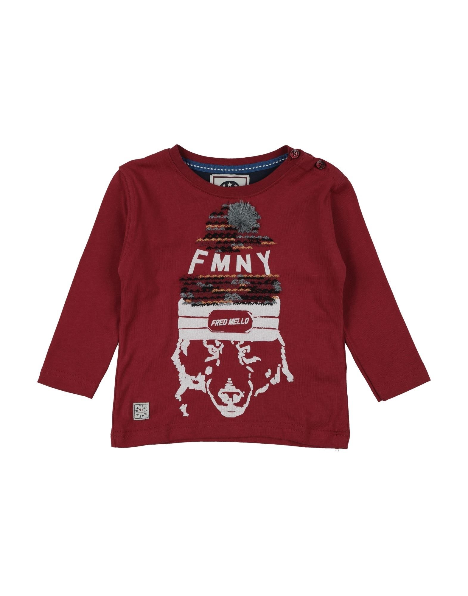 Fred Mello Kids' T-shirts In Red