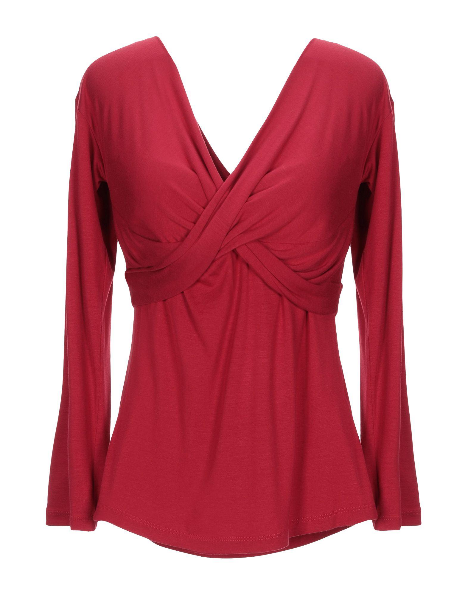 ANNA RACHELE Damen T-shirts Farbe Rot Größe 5