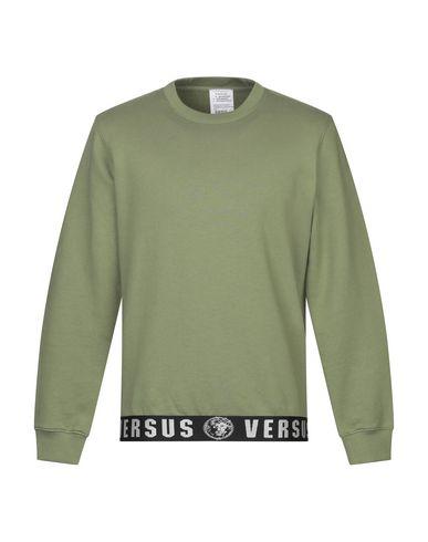 Фото - Мужскую толстовку VERSUS VERSACE цвет зеленый-милитари