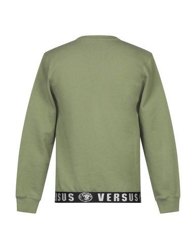 Фото 2 - Мужскую толстовку VERSUS VERSACE цвет зеленый-милитари