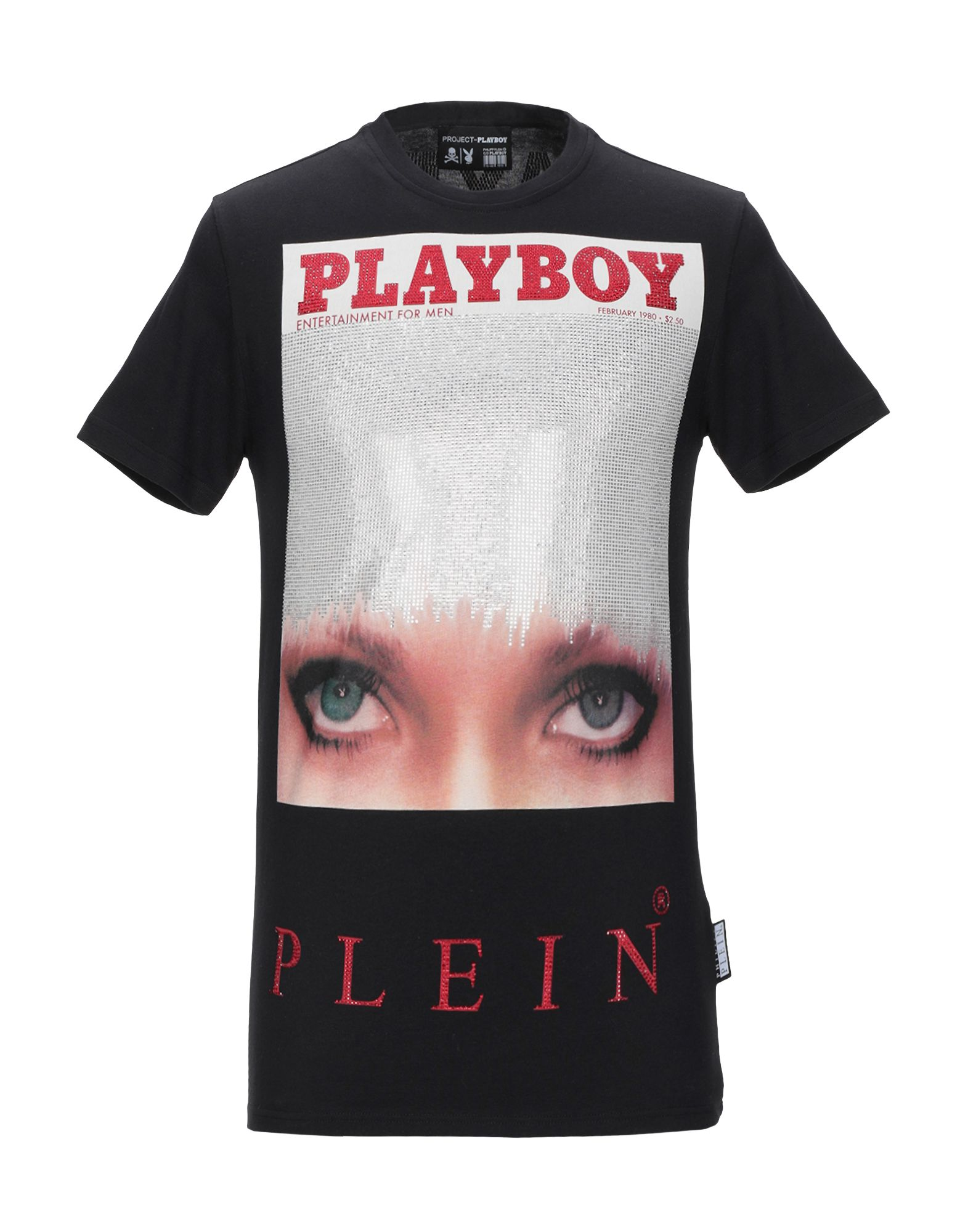 PHILIPP PLEIN x PLAYBOY Футболка безрукавка playboy x 007119