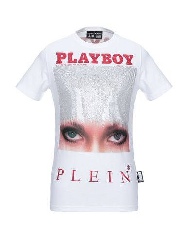Фото - Женскую футболку PHILIPP PLEIN x PLAYBOY белого цвета