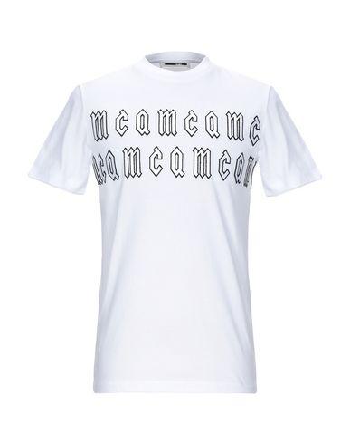 Фото - Женскую футболку McQ Alexander McQueen белого цвета