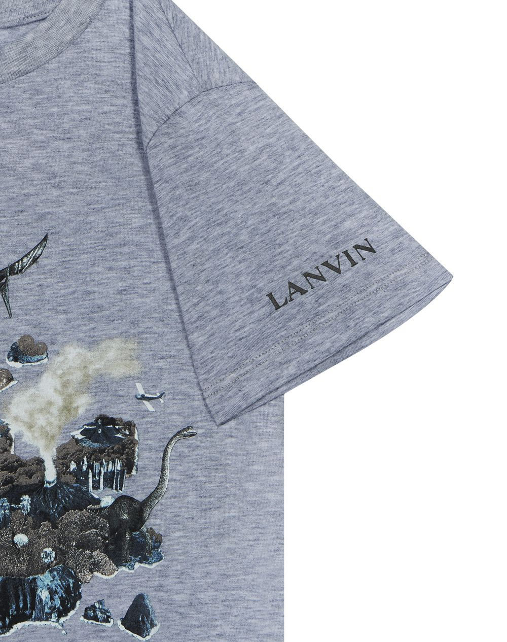 LIGHT GRAY JURASSIC T-SHIRT  - Lanvin