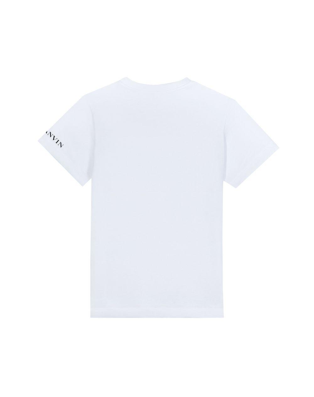 WHITE JURASSIC T-SHIRT  - Lanvin