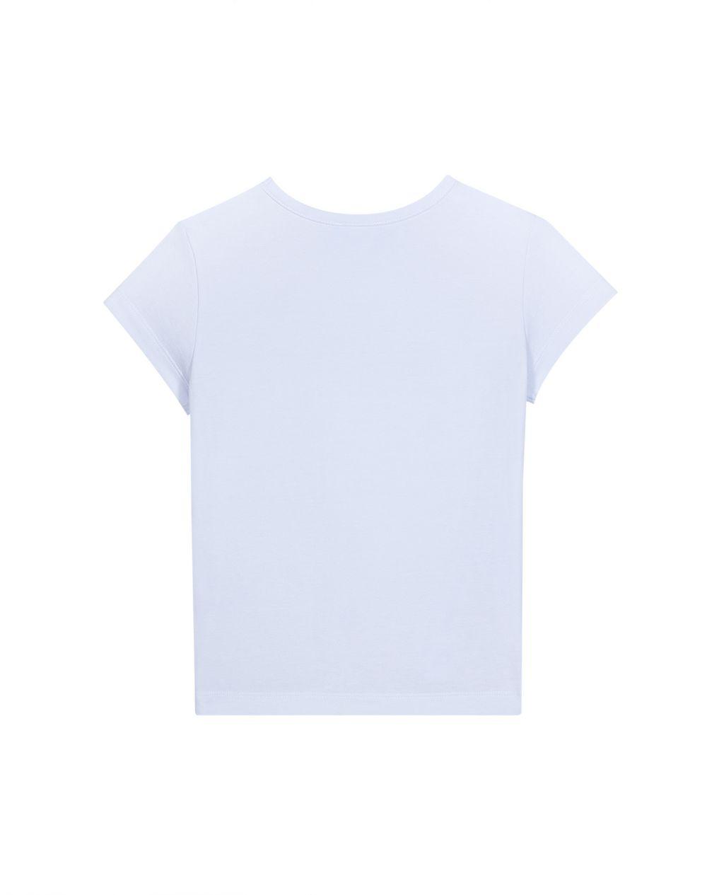 ブルー LANVIN プリント Tシャツ  - Lanvin