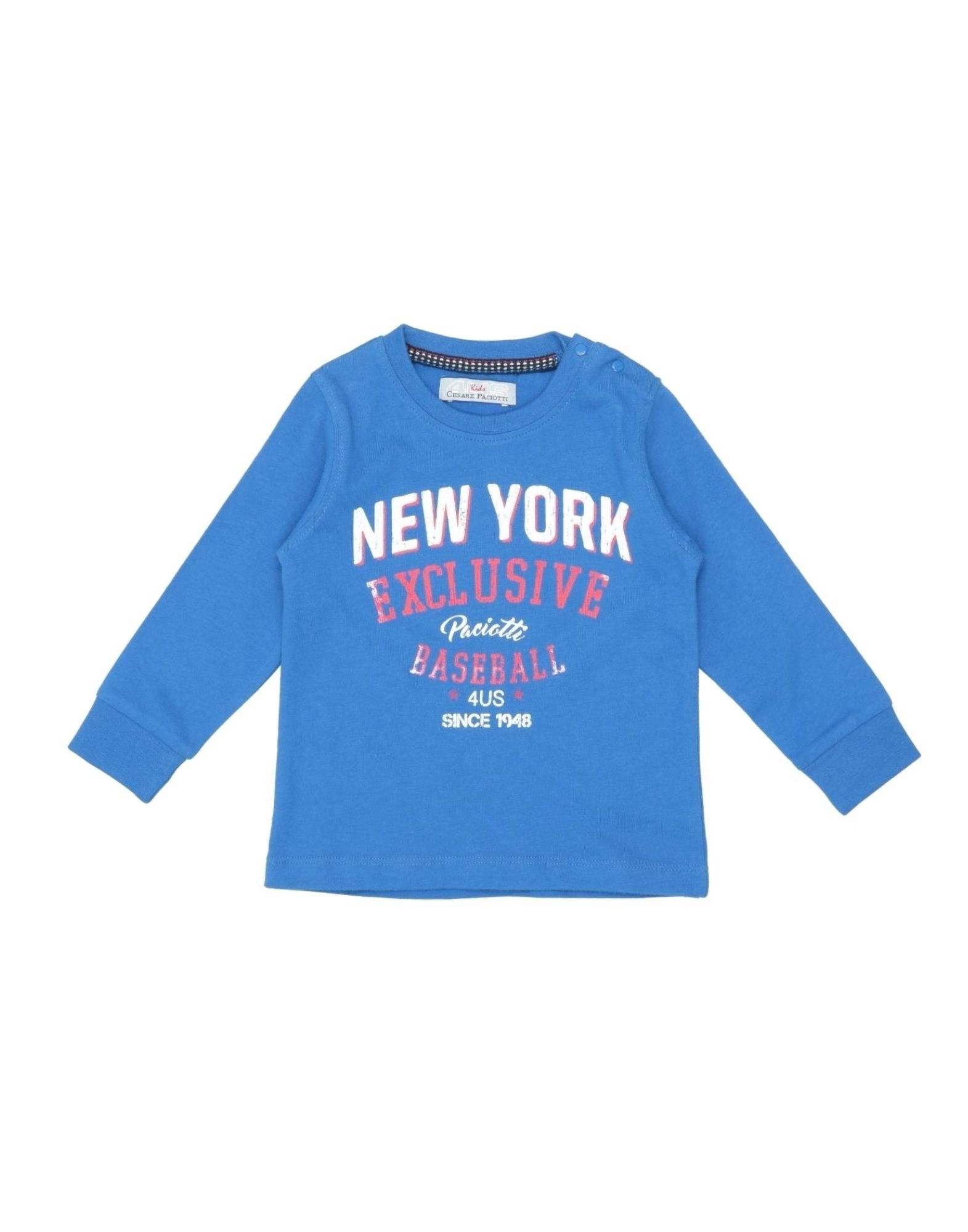 Cesare Paciotti 4us Kids' T-shirts In Blue