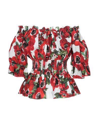 Купить Женскую блузку  красного цвета