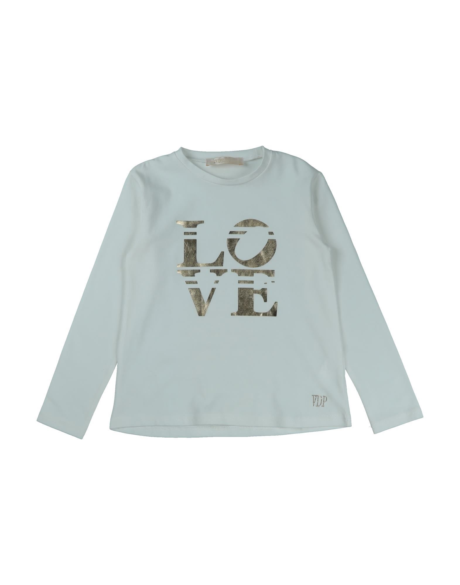 Vdp Collection Kids' T-shirts In Blue