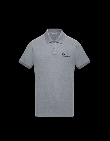 POLO SHIRT Grey Category Polo shirts Man