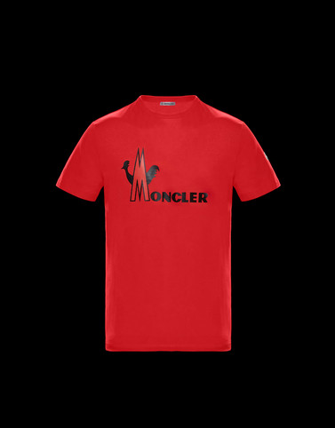T-SHIRT Red Category T-shirts