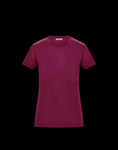 T-SHIRT Purple T-shirts & Tops Woman