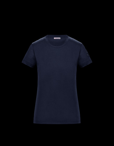 T-SHIRT Dark blue Category T-shirts Woman