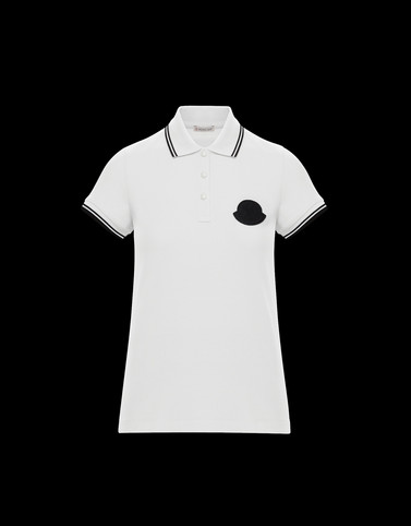 POLO SHIRT White Category Polo shirts Woman