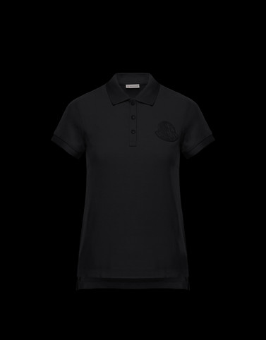 POLO SHIRT Black Category Polo shirts Woman
