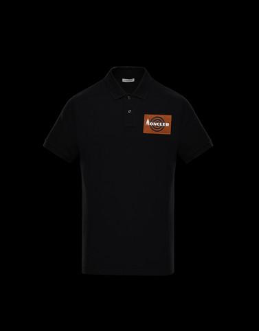 POLO衫 黑色 Polo 衫及 T 恤 男士