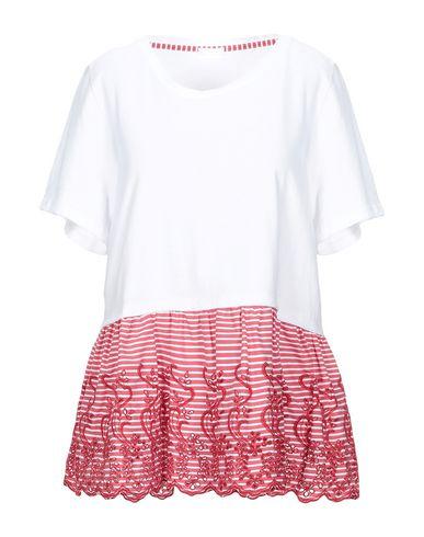 Купить Женскую футболку P.A.R.O.S.H. белого цвета