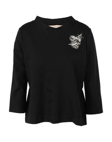 Фото - Женскую футболку TWINSET черного цвета