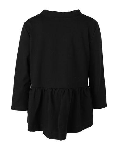 Фото 2 - Женскую футболку TWINSET черного цвета