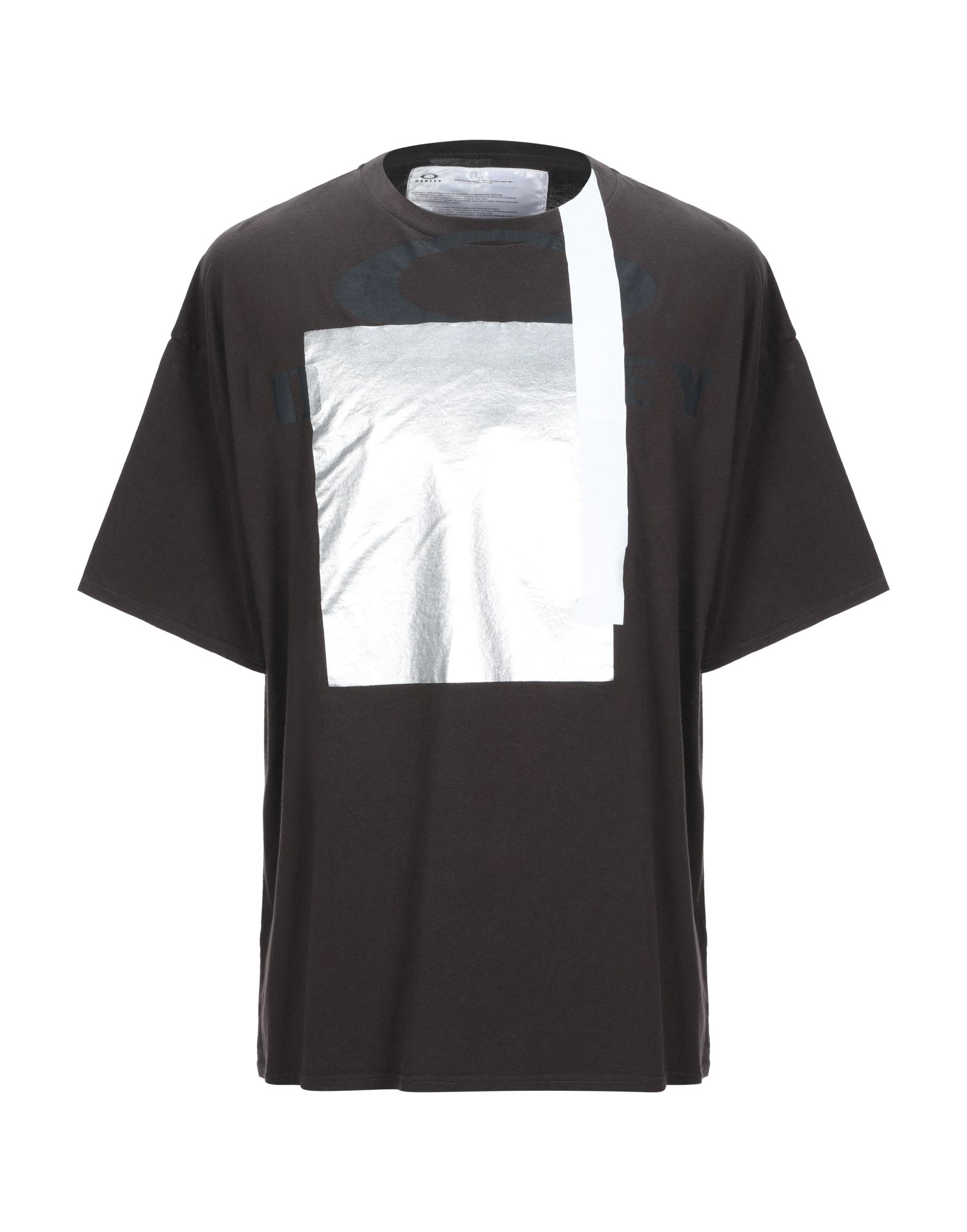 《期間限定セール中》OAKLEY メンズ T シャツ ダークブラウン XL コットン 100%