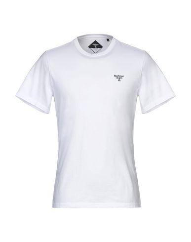 Купить Женскую футболку BARBOUR белого цвета