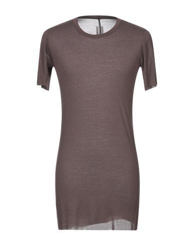 Фото - Женскую футболку  коричневого цвета