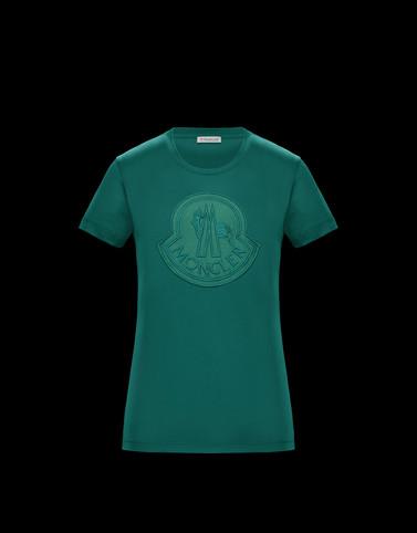 T-SHIRT Green Category T-shirts Woman