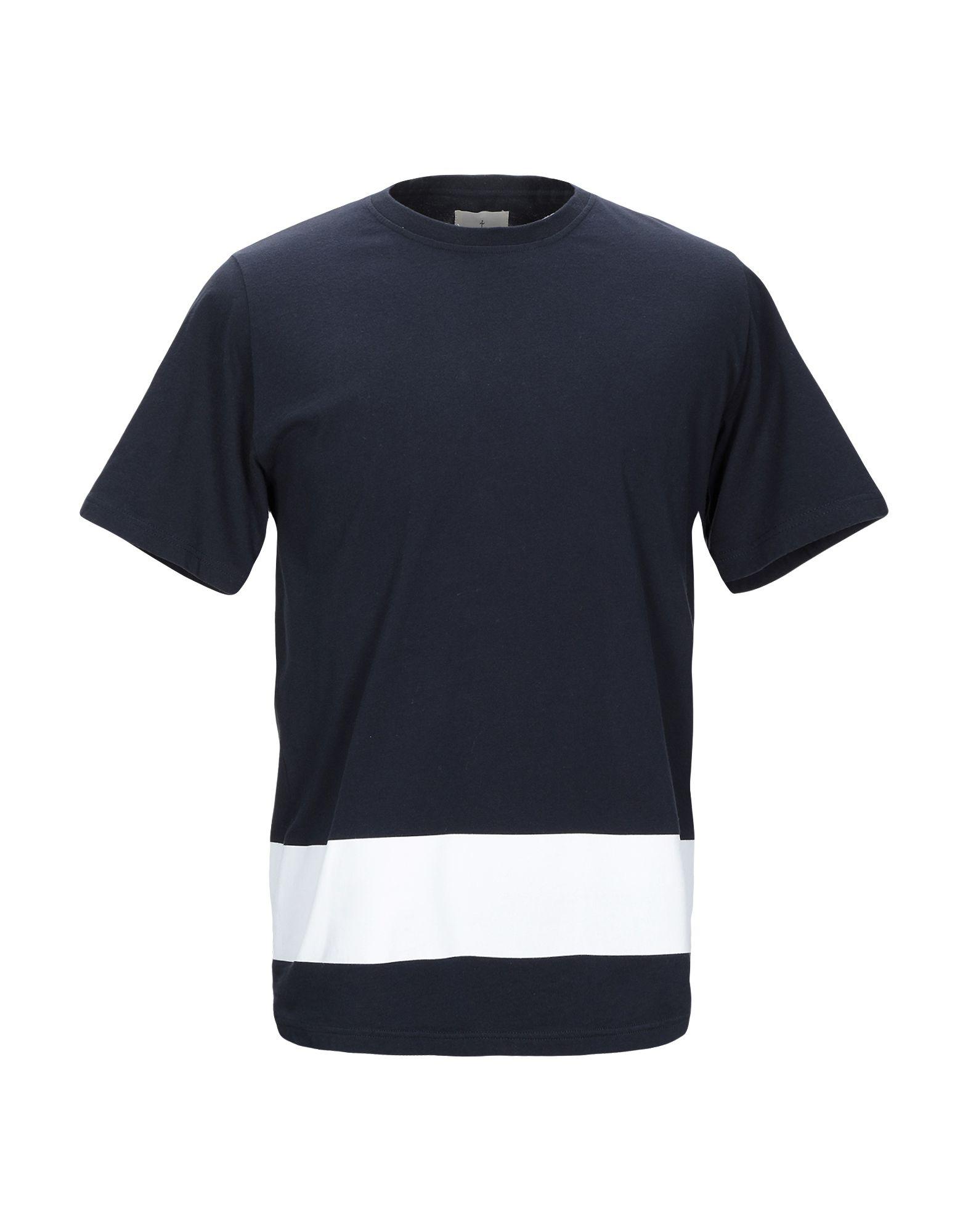 《期間限定セール中》LA PAZ メンズ T シャツ ダークブルー M 麻 100%