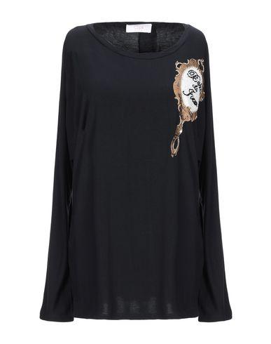 Купить Женскую футболку CLIPS MORE черного цвета