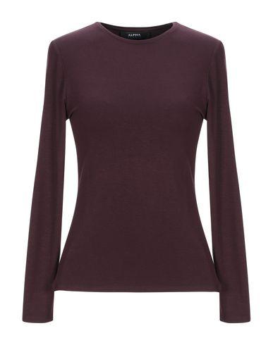 Фото - Женскую футболку ALPHA STUDIO красно-коричневого цвета
