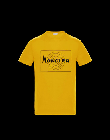 T-SHIRT Ochre Category T-shirts Man