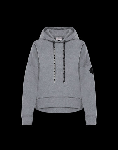 SWEATSHIRT Light grey Category HOODED SWEATSHIRTS