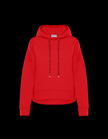 SWEATSHIRT Red Category HOODED SWEATSHIRTS