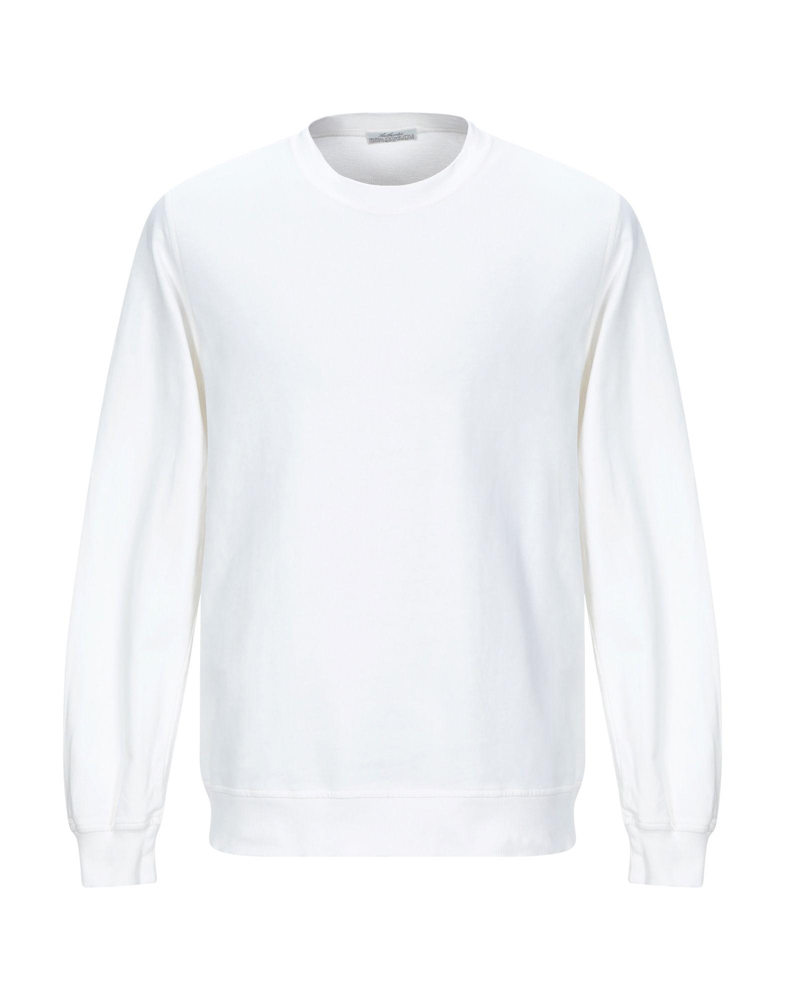 《送料無料》ORIGINAL VINTAGE STYLE メンズ スウェットシャツ ホワイト L コットン 100%