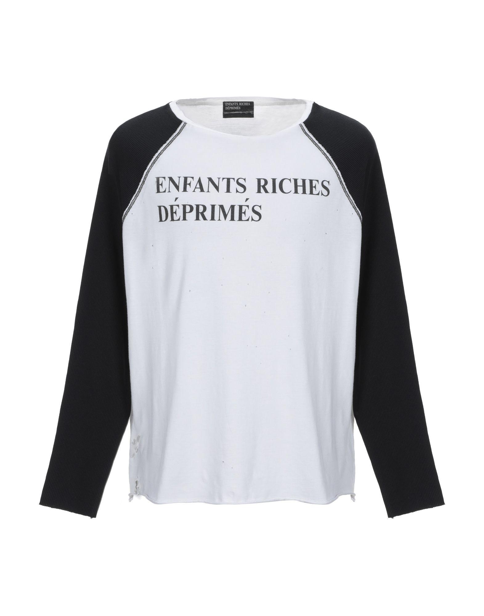 《期間限定セール開催中!》ENFANTS RICHES D?PRIM?S メンズ T シャツ ブラック M コットン 100%