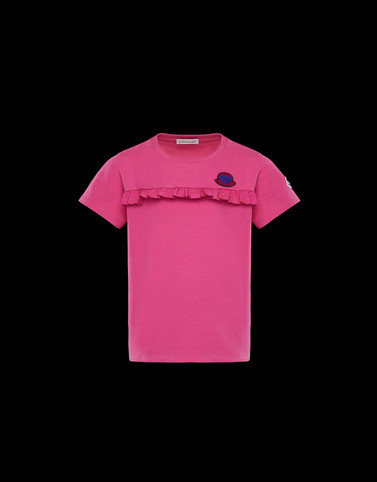 T-SHIRT Fuchsia Junior 8-10 Years - Girl Woman