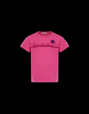 T-SHIRT Fuchsia Kids 4-6 Years - Girl Woman