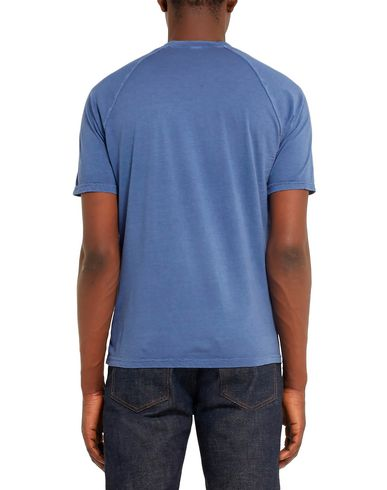 Фото 2 - Женскую футболку ASPESI грифельно-синего цвета