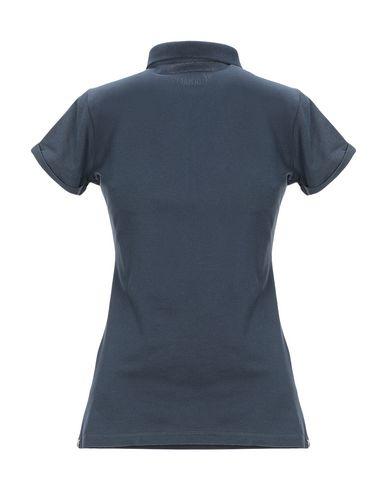 Фото 2 - Женское поло  грифельно-синего цвета