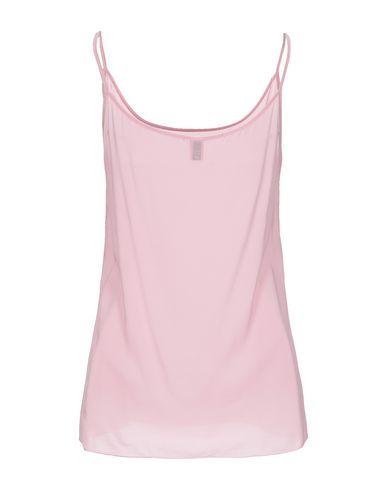 Фото 2 - Топ без рукавов от EUROPEAN CULTURE розового цвета