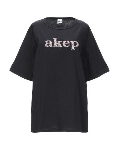 Фото - Женскую футболку AKEP черного цвета